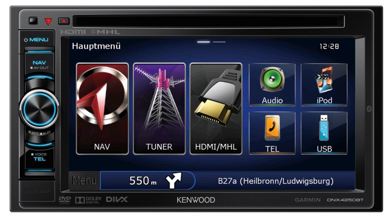 KENWOOD DNX4250BT Multimedia Receiver Windows 8 X64