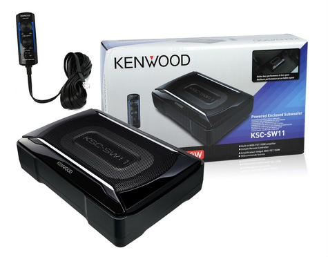 KENWOOD KSC SW11 In car Sound Vehicle Audio Speaker Subwoofer Thumbnail 3