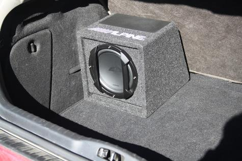 ALPINE SWE 815 In car Sound Vehicle Audio Speaker Subwoofer Thumbnail 4