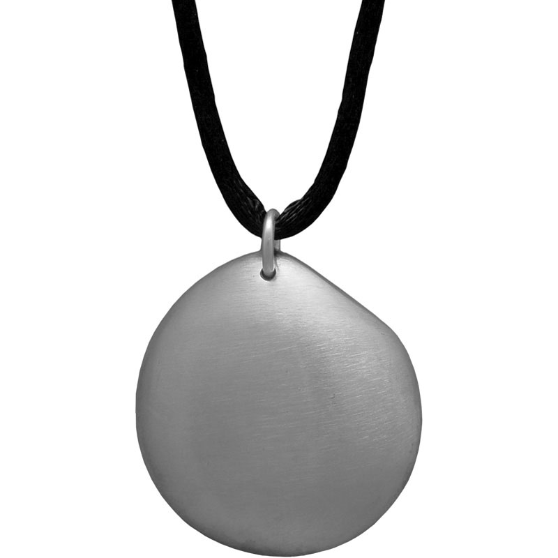 Q-Link SRT-3 Pendant - Silver Pebble (Brushed)