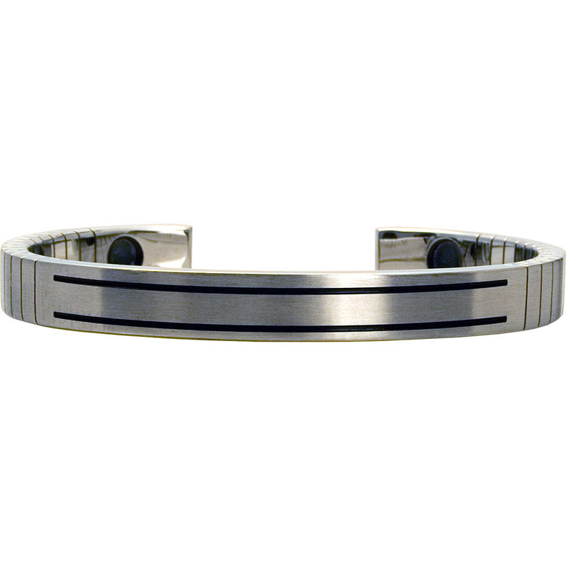 Q-Link SRT-3 Bracelet - Stainless Steel (Brushed) - Women's Small