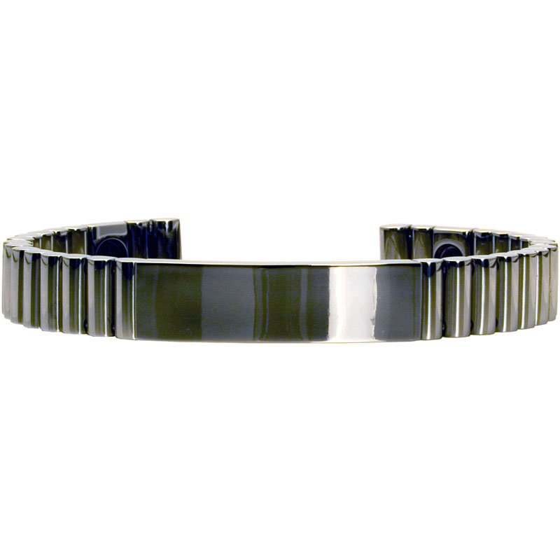 Q-Link SRT-3 Bracelet - Titanium (Polished) - Unisex Medium
