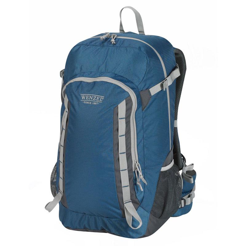 Wenzel Getaway Panel Load Backpack 40 Litres - True Blue