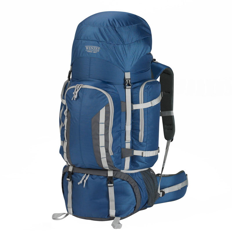 Wenzel Escape Backpack 90 Litres Heavy Capacity Carry Bag for Travellers - Blue
