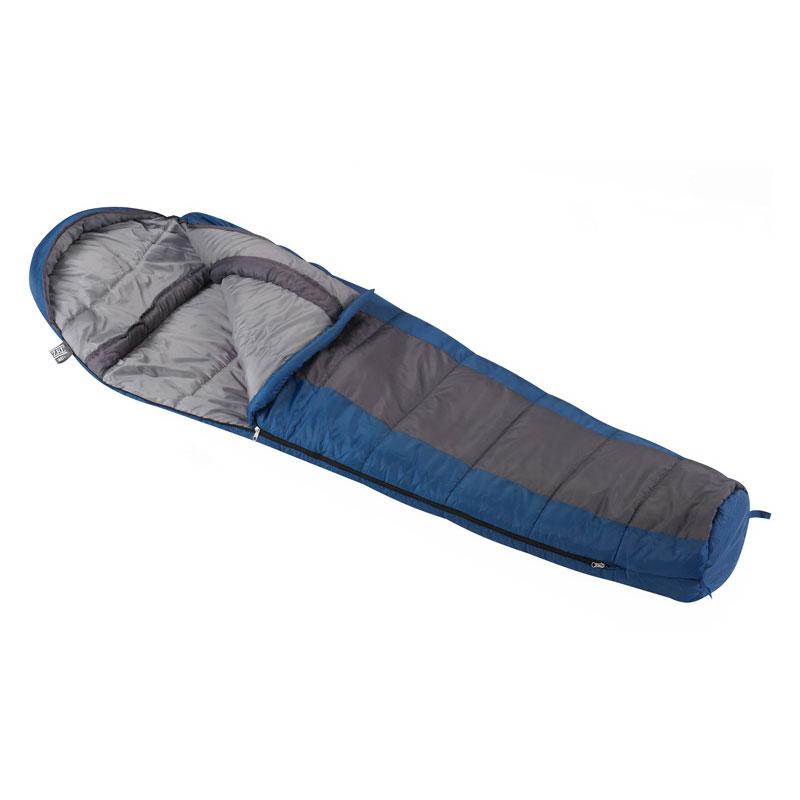 Wenzel Santa Fe 20° Mummy Sleeping Bag - Blue/Gray