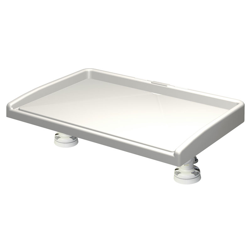 Railblaza Fillet Table Kit inc StarPorts (White)