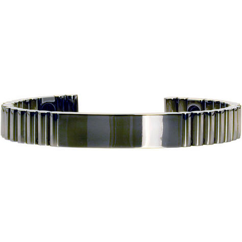 Q-Link SRT-3 Bracelet - Titanium (Polished) - Unisex Medium Thumbnail 1