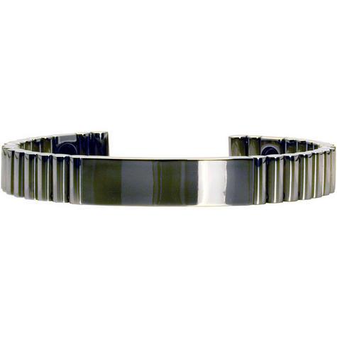 Q-Link SRT-3 Bracelet - Titanium (Polished) - Unisex Large Thumbnail 1