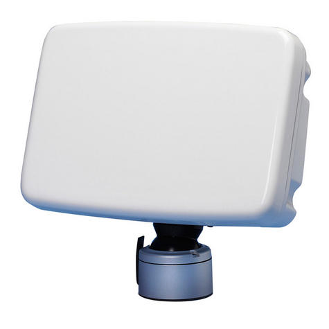 Scanstrut SPD-12D ScanPod Deck Pod - 10-12 Inch Displays - Deep back - White Thumbnail 1