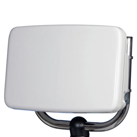 Scanstrut SPH-12-W ScanPod Helm Pod - Up to 12 Inch Displays - Slim back - White Thumbnail 1