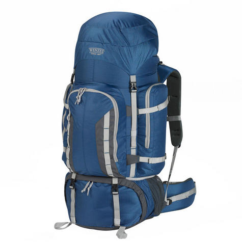 Wenzel Escape Backpack 90 Litres Heavy Capacity Carry Bag for Travellers - Blue Thumbnail 1