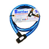 Oxford 1.5m x 25mm Heavy Duty Bike Cycle Bicycle Amoured Cable Lock | OF146 | Blue