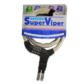 Oxford Super Viper Bike Cycle Bicycle Armored Combination Cable Lock 590-OF236