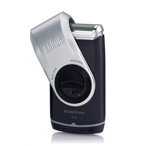 Braun M-90 Men's Mobile Shave Electric Portable Battery Powered Trimmer Shaver Thumbnail 2