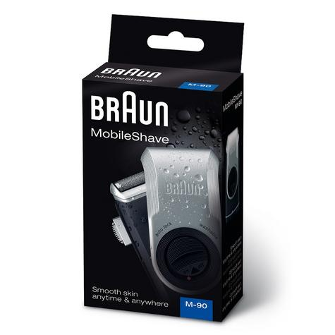 Braun M-90 Men's Mobile Shave Electric Portable Battery Powered Trimmer Shaver Thumbnail 6