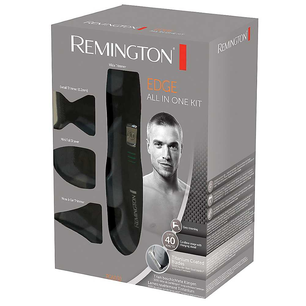 new remington mens king of shaver body hair grooming beard trimmer clipper kit sustuu. Black Bedroom Furniture Sets. Home Design Ideas