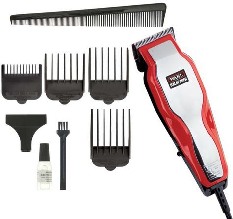 Wahl Baldfader Close Shave Single Cut Mains Clipper -- Closest Shave to a Razor Thumbnail 1