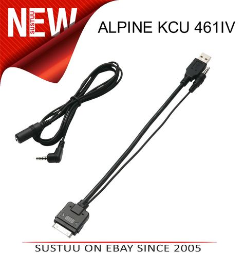 ALPINE KCU 461IV iPod Connector Cable Lead In Car Audio Thumbnail 1