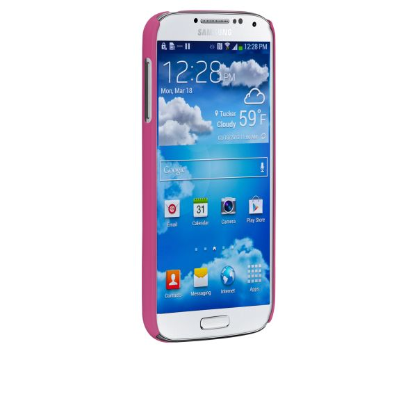 Case-Mate Barely There Protective Cover Case Samsung Galaxy S4 Pink -- CM027371