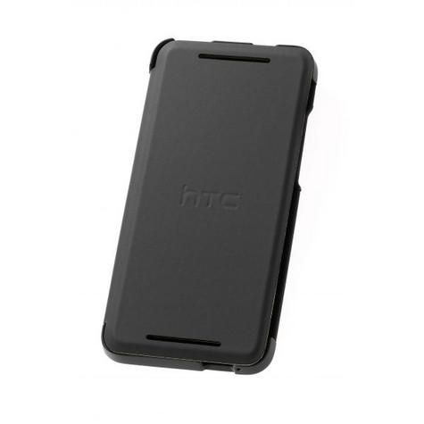 Official HTC HC V851 Hard Shell Case for HTC One Mini in Black & Green Thumbnail 2
