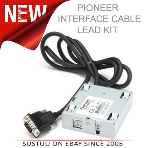 PIONEER CD IV202NAVI iPod Connector Cable Lead In Car Audio Thumbnail 1