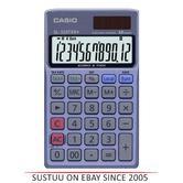 Casio Pocket VAT-Tax Calculator | Euro Conversion | Profit Margin Fun. | SL320T | Solar