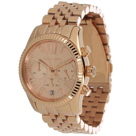 michael kors chronograph gold designer