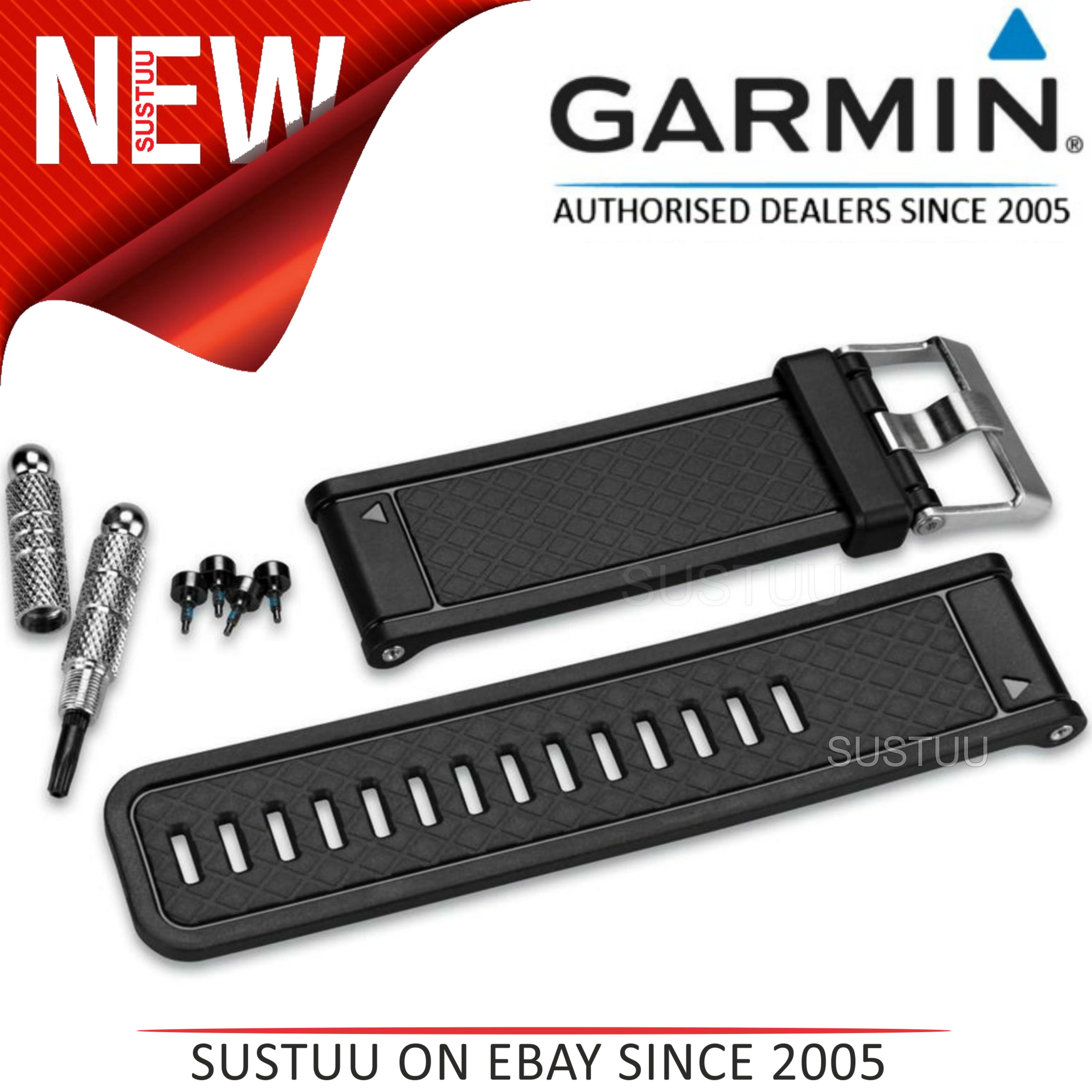 Garmin Replacement Black Watch Band/Strap|D2 Fenix 2 Quatix Tactix|010-11814-04