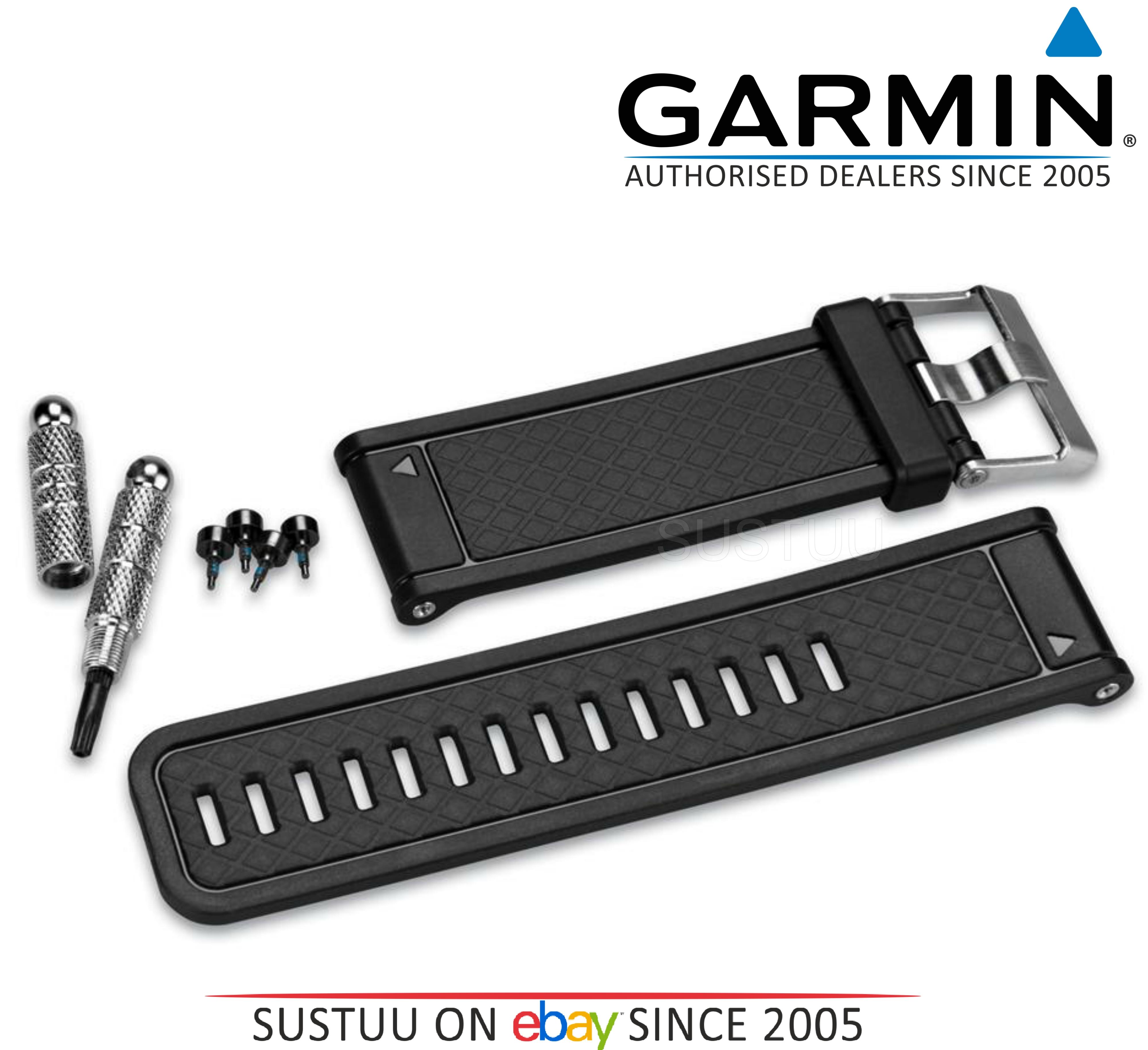Garmin Replacement Black Watch Band/Strap D2 Fenix 2 Quatix Tactix 010-11814-04