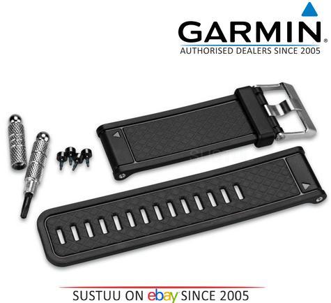 Garmin Replacement Black Watch Band/Strap D2 Fenix 2 Quatix Tactix 010-11814-04 Thumbnail 1