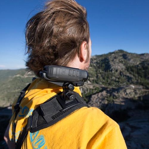 Garmin Virb Amp Elite Shoulder Harness Mount Holder For