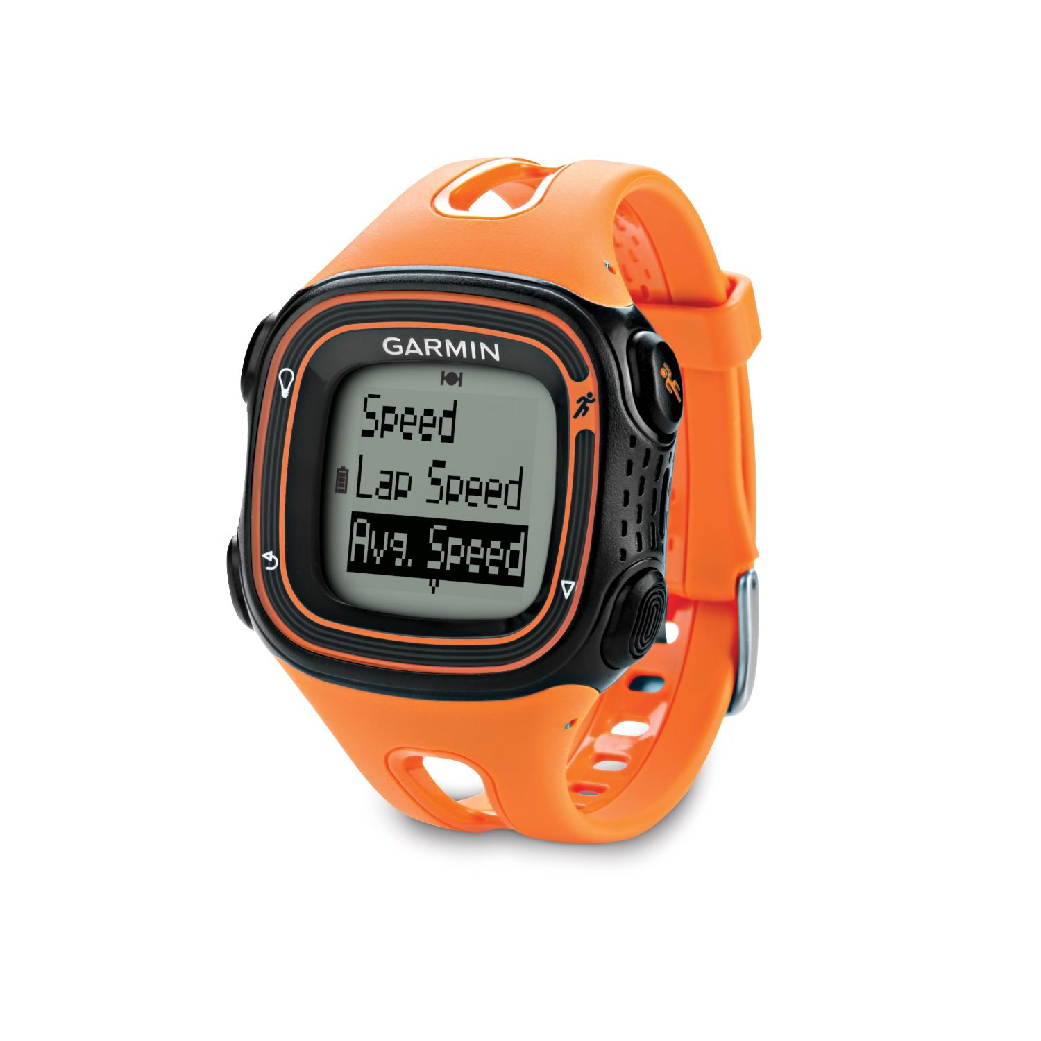 Garmin forerunner 10 orange black gps fitness running sports watch 010 01039 04 sustuu for Watches garmin