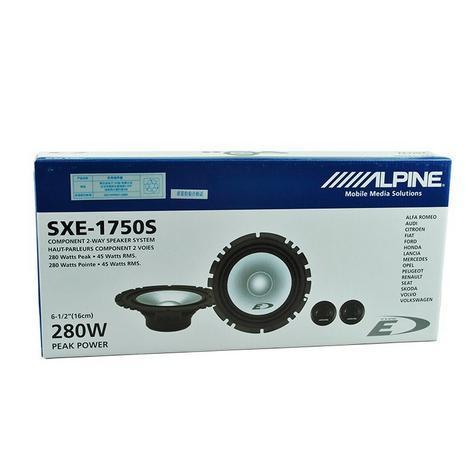 "Alpine SXE 1750S 2-way Coaxial Car Audio Sound Speaker 6""x9""Custom fit 280W NEW Thumbnail 2"