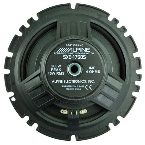 "Alpine SXE 1750S 2-way Coaxial Car Audio Sound Speaker 6""x9""Custom fit 280W NEW Thumbnail 4"