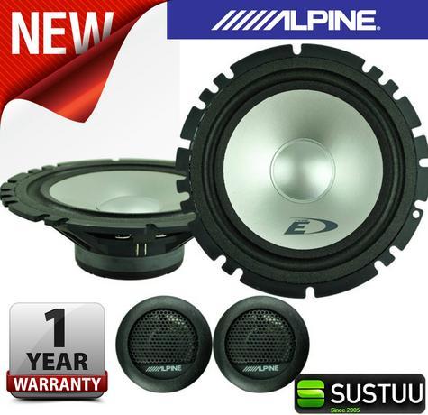 "Alpine SXE 1750S 2-way Coaxial Car Audio Sound Speaker 6""x9""Custom fit 280W NEW Thumbnail 1"