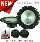 """Alpine SXE 1750S 2-way Coaxial Car Audio Sound Speaker 6""""x9""""Custom fit 280W NEW"""
