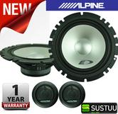 "Alpine SXE 1750S 2-way Coaxial Car Audio Sound Speaker 6""x9""Custom fit 280W NEW"