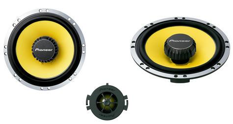 Pioneer TS Q171C|In Car 2way Coamponent Speakers|Door-Shelf|17cm|200W|For Renault Citroen Peugoet Thumbnail 4