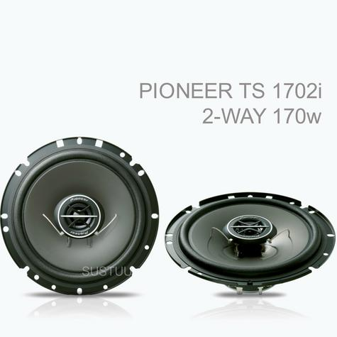 PIONEER TS 1702i 17cm 2 Way In Car Vehicle Audio Sound Speaker Thumbnail 1
