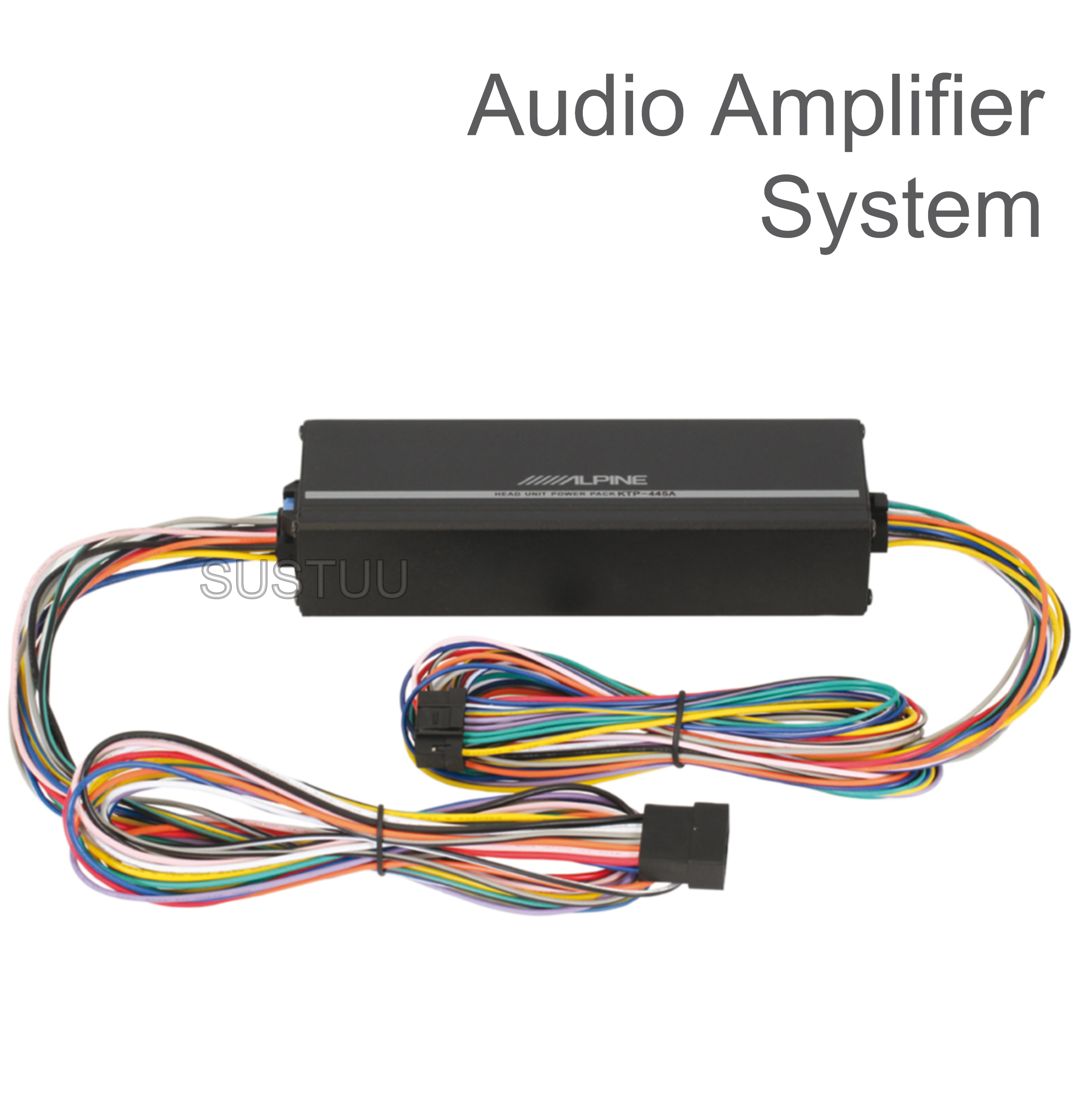 ALPINE KTP 445A 2 Channel In Car Vehicle Sound Audio Amplifier System