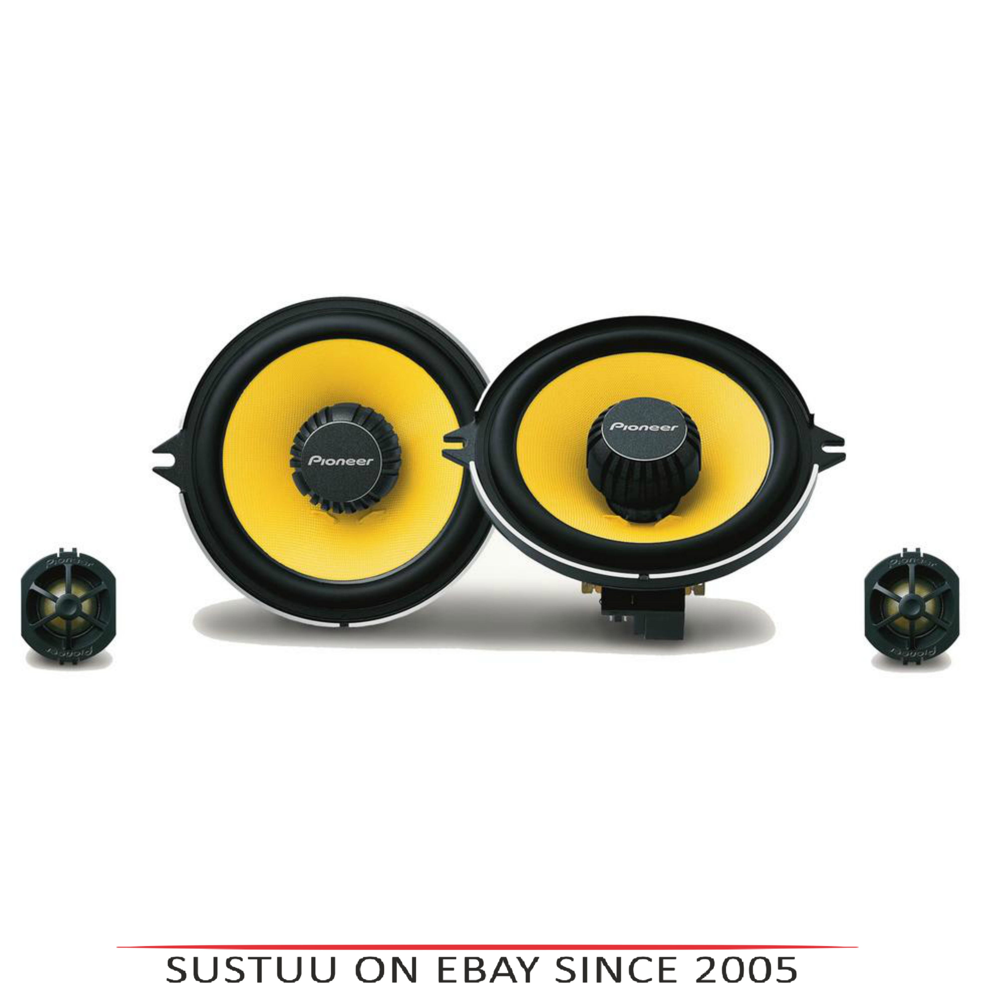 Pioneer TS-Q131C|In Car 2-way Component Speakers|13cm|180W|Fits Renault Vehicles