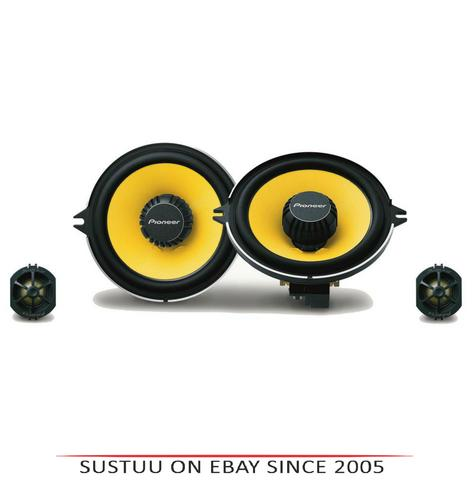 Pioneer TS-Q131C|In Car 2-way Component Speakers|13cm|180W|Fits Renault Vehicles Thumbnail 1