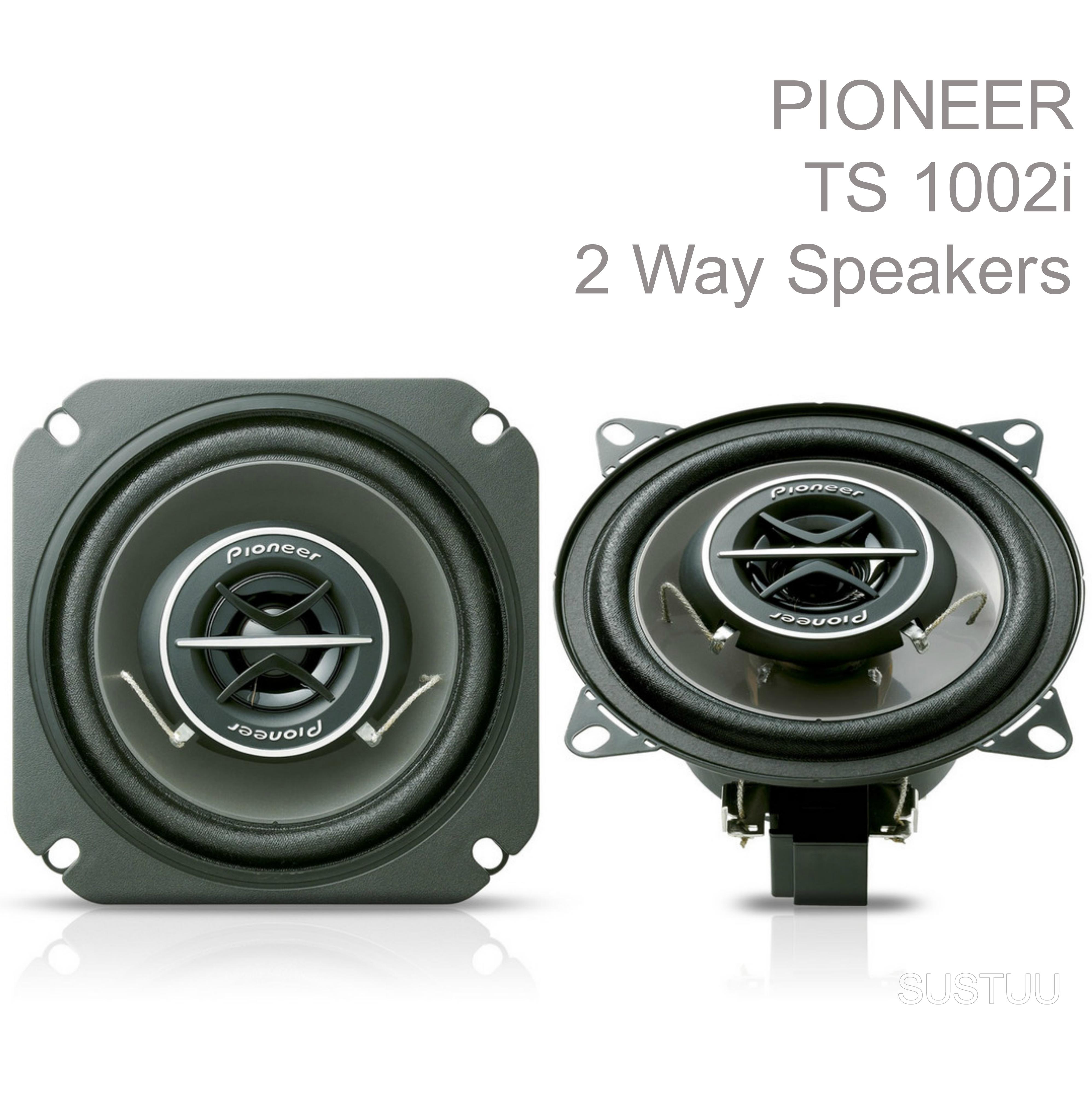 PIONEER TS 1002i 10cm 2 Way 120W In Car Vehicle Audio Sound Speaker