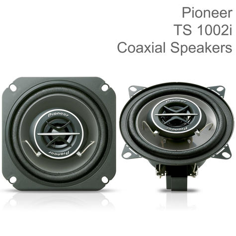 """Pioneer Coaxial 2-Way Custom Fit Car Audio Sound Speakers 
