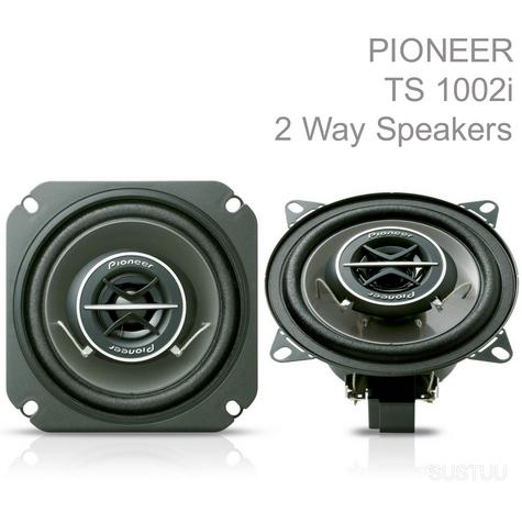 PIONEER TS 1002i 10cm 2 Way 120W In Car Vehicle Audio Sound Speaker Thumbnail 1