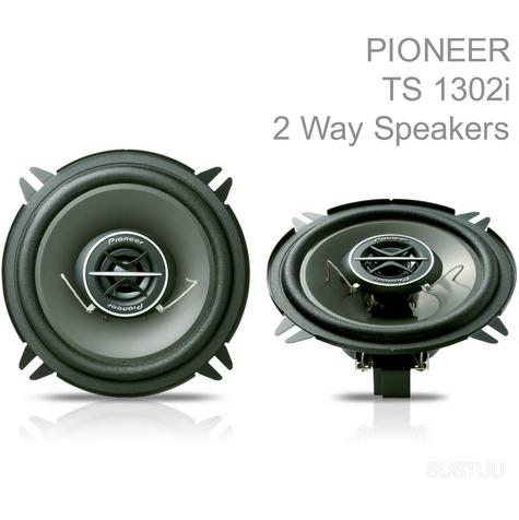 PIONEER TS 1302i 13cm 2 Way 130W In Car Vehicle Audio Sound Speaker Thumbnail 1