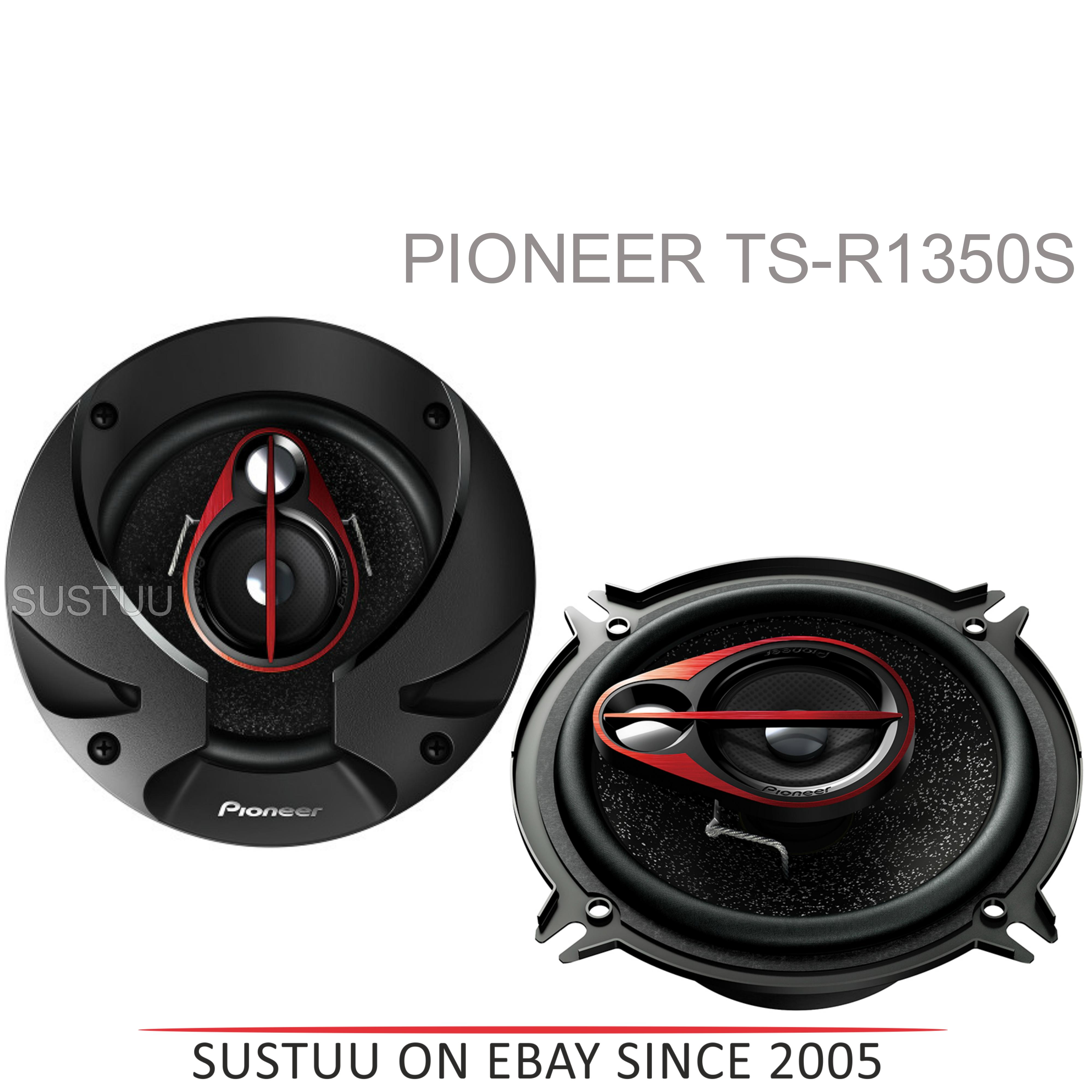 PIONEER TS R1350S 13cm 3 Way 250W In Car Vehicle Audio Sound Speaker