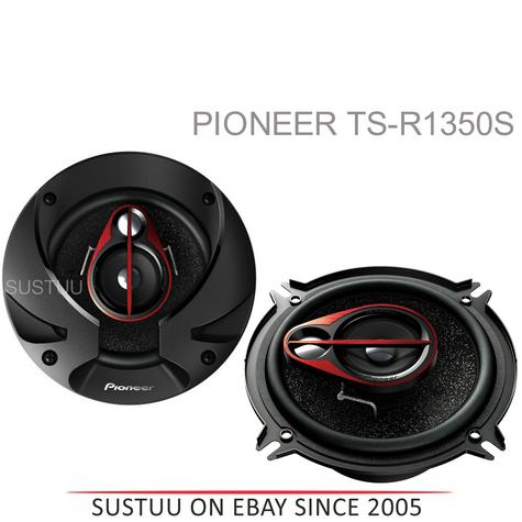 PIONEER TS R1350S 13cm 3 Way 250W In Car Vehicle Audio Sound Speaker Thumbnail 1