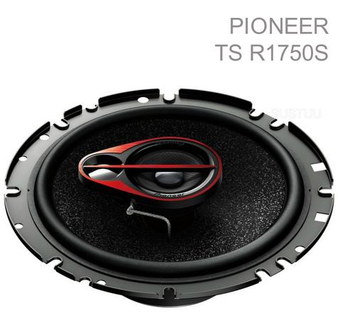 PIONEER TS R1750S 17cm 3 Way 250W In Car Vehicle Audio Sound Speaker Thumbnail 1