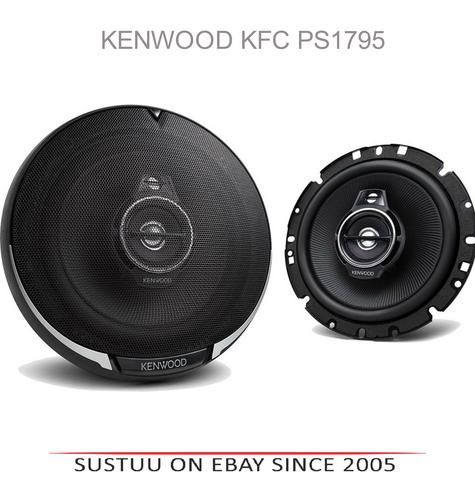 "NEW Kenwood KFC PS1795 17CM 6.5"" 660 Watts Door 3-Way Car Stereo Speakers Thumbnail 1"